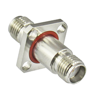C3382 SMA/Female to SMA/Female Flange Adapter Centric RF