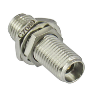 C7089 2.92/Female to 2.92/Female Bulkhead Coaxial Adapter Centric RF