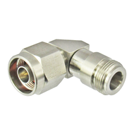 C5540 N/Male to N/Female Swept Right Angle Coaxial Adapter Centric RF