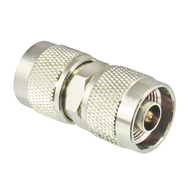 C5552 N/Male to N/Male Brass Coaxial Adapter Centric RF
