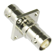 C2131 BNC/Female to BNC/Female Flange Mount Coaxial Adapter Centric RF