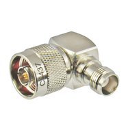 C5437 N/Male to TNC/Female Right Angle 11 Ghz Coaxial Adapter Centric RF