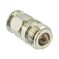 C5452 N/Female to TNC/Male 11 Ghz Brass Coaxial Adapter Centric RF
