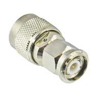 C5465 N/Male to TNC/Male 11 Ghz Brass Coaxial Adapter Centric RF