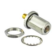 C3602 N/Female to SMA/Female Bulkhead Adapter Centric RF