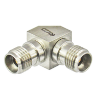 C7709 3.5/Female to 3.5/Female Right Angle Adapter Centric RF
