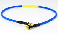 C578-086-18 SMP/Female to SMP/Female .086 18 inch Flexible Cable Assembly Centric RF