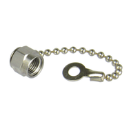 CSM1C SMA/Male Dust Cap with Chain Centric RF