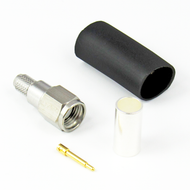 CX2001 SMA/Male Crimp/Solder Connector for LMR200 Centric RF