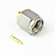 CX0861 SMA/Male Connector for .086 Cable Centric RF