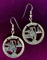 Illinois Quarter Earrings