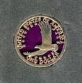 Soaring Eagle Dollar Complete Detail Pendant