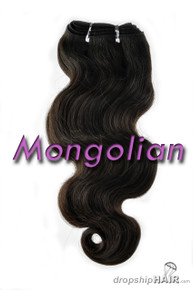Virgin Mongolian Double Drawn Royal Hair Weft