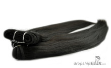 """Euro-Russian Double Drawn 110g Weft - 14"""" Bundle/Stack"""