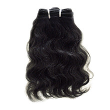 "Brazilian Virgin 7A DD Machined 10"" Body Wave"