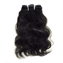 "Brazilian Virgin 7A Hand Tied 10"" Body Wave"