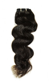 "Brazilian Virgin 7A Hand Tied 20"" Body Wave"
