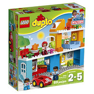 LEGO Duplo My Town Family House 10835 Building Block Toys for Toddlers