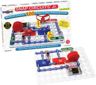 4 sets of Snap Circuits Jr. SC-100 Electronics Discovery Kit