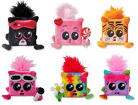 Complete Set of 6 Squaredy Cats Collectible Plush, By Kids Preferred [Toy]