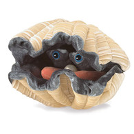 Folkmanis Giant Clam Hand Puppet Plush