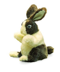 Baby Dutch Rabbit Puppet Folkmanis Puppets