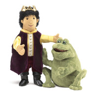 Frog Prince Reversible Puppet