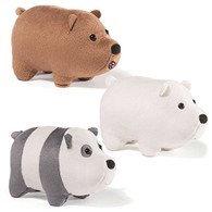 Gund - We Bare Bears Magentic Plush - Set of all 3!