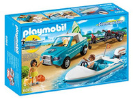 PLAYMOBIL Surfer Pickup with Speedboat
