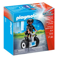 PLAYMOBIL Policeman with Balance Racer
