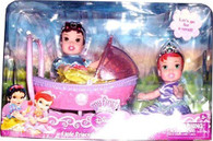 Disney Princess My First Little Princess Twinsies Stroller Set ~ Ariel and Snow White