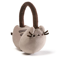 Gund Pusheen Plush Cat Earmuffs Stuffed Toy