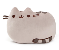 Gund Pusheen Reversible Plush Cat Pillow Stuffed Toy