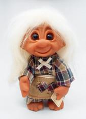DAM Girl Skovtrold Pige Troll 9 inch