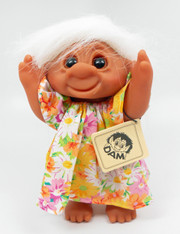 DAM Girl in a Summer Dress Troll 8.5 inch