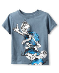 Bumkins Dr. Seuss Short Sleeve Graphic Toddler Tee - Yertle the Turtle