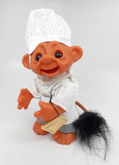 DAM Bald Chef Boy Troll with Tail, 9 inch
