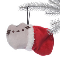 Gund Pusheen Stocking Ornament Plush 6 inch (15cm)