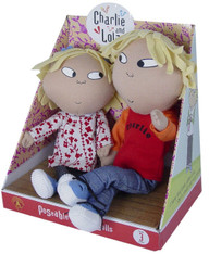 "Charlie and Lola: Talking Poseable Set, 9"" (22cm) Dolls"
