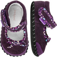 pediped Originals Becky - Purple Mary Jane (Infant/Toddler)