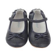 Robeez Graceful Gracie Mini Shoez, Navy (Toddlers)