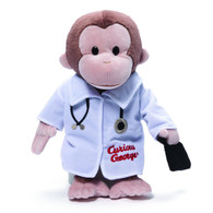 Curious George Doctor Plush, 13 inch (33 cm)