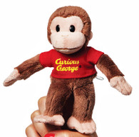 Curious George Finger Puppet, 6 inch (15 cm)