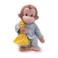 Curious George in Pajamas Plush, 13 inch (33 cm)
