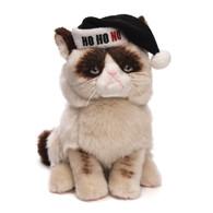 "Gund Grumpy Cat - Christmas Edition ""Ho Ho No"" Plush, 9 inch (22.9 cm)"