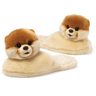 Gund Boo, the World's Cutest Dog - Adult Sized Slippers, Women's (up to size US 9.5)