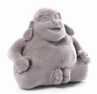 Gund Huggy Buddha Medium Plush, Grey, 7.5 inch (19 cm)