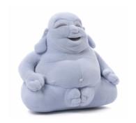 Gund Huggy Buddha Medium Plush, Blue, 7.5 inch (19 cm)