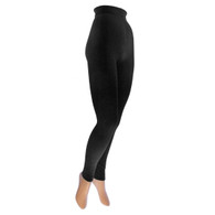 b.ella Thermo Footless Tight, Black.  Made in Italy