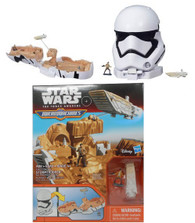 Hasbro Star Wars The Force Awakens Micro Machines First Order Stormtrooper Playset + BONUS!